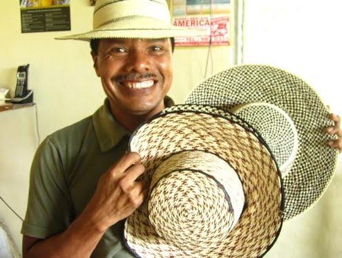 Panama und Kolumbien Hüte