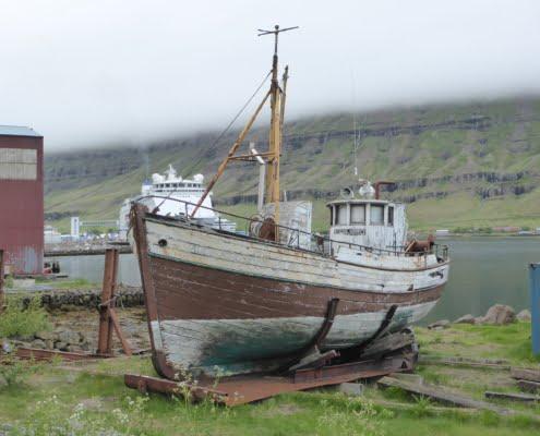 Rundreise Island im Sommer Boot