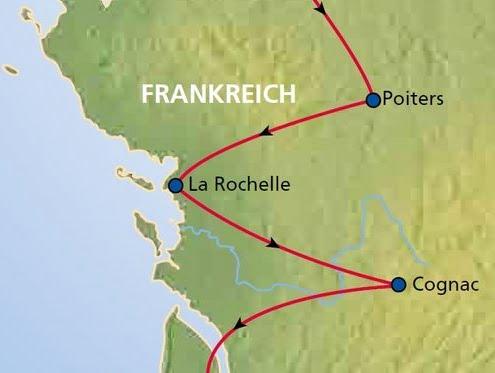 Frankreich Rundreise Bretagne und Aquitanien