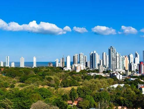 Panama und Kolumbien Skyline