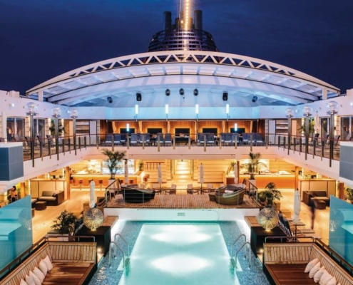 HAPAG-LLOYD CRUISES MS Europa 2 Pooldeck