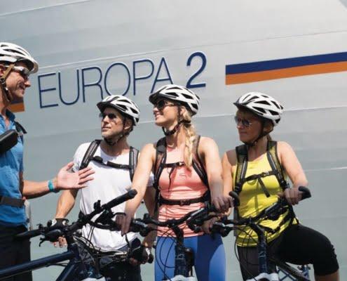 HAPAG-LLOYD CRUISES MS Europa Radausflug
