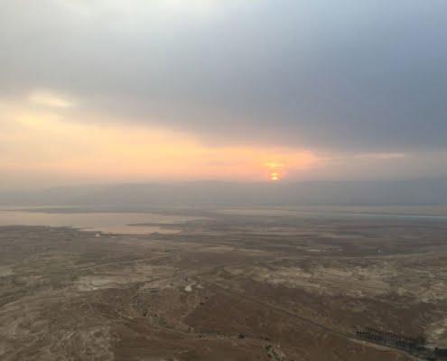 ferntouristik unterwegs in Israel; Ausblick Masada