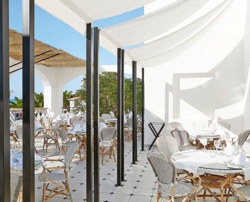 Grecotel Caramel Boutique Resort Frühstücksterrasse