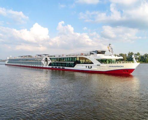 nickoVISION Donaukreuzfahrt Außenansicht